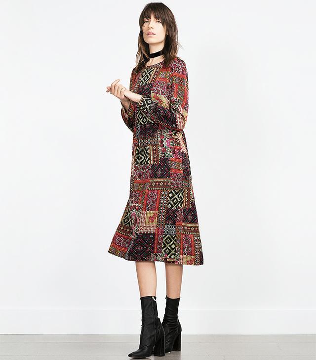 Zara Patchwork Dress