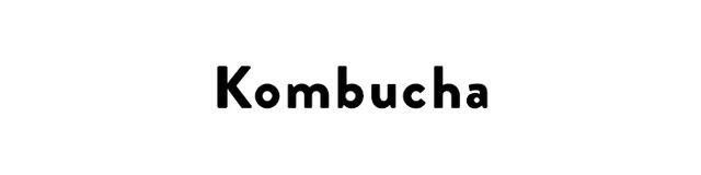 Kombucha is a fermented, slightly effervescent tea that the health-food set loves to drink. It's an age-old elixir that's beneficial to the liver, joints, and digestion. What it does...