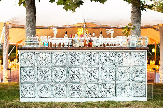 Build an outdoor bar.