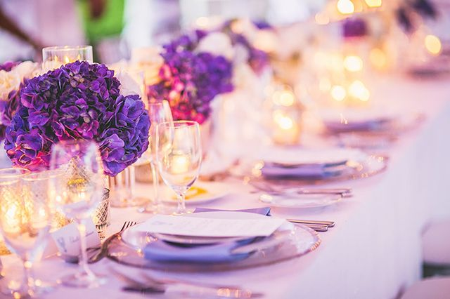 Add a pop of color to your table setting.