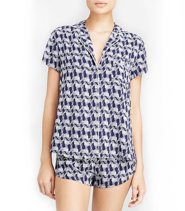 Splendid Intimates Woven Classic Pajama Set