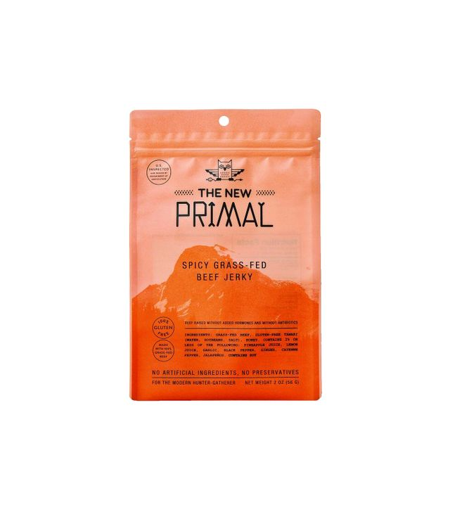 The New Primal Spicy Grass-Fed Beef Jerky