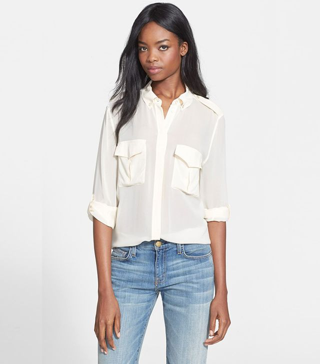 Equipment Major Silk Blouse