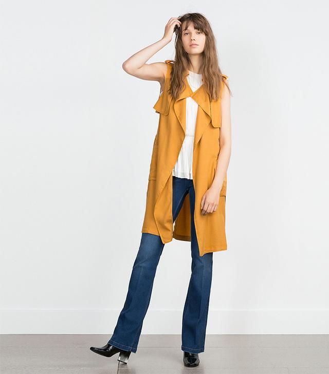 Zara Long Waistcoat