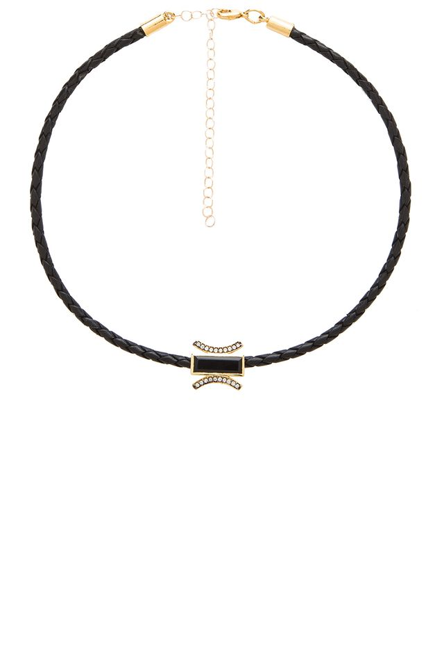 Jacquie Aiche Braided Choker Necklace