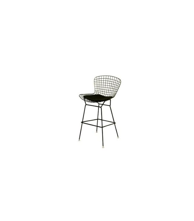 Baxton Studio Black Wire Barstool