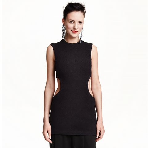 Cut-Out Sleeveless Top