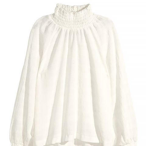 Blouse With Smocking