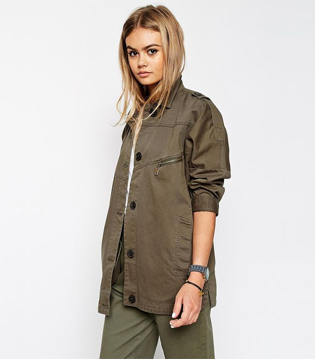 ASOS Jacket With Utility Detail