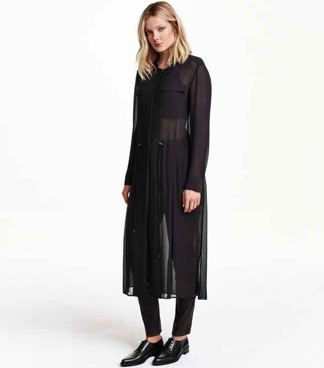 H&M Long Shirt Dress