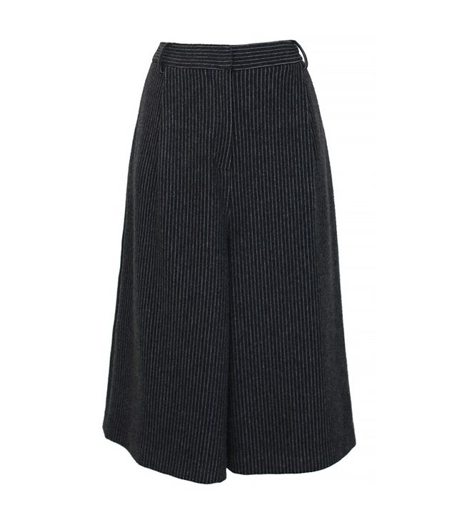 Tibi Striped Flannel Culottes