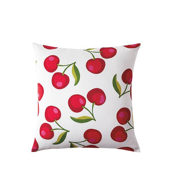 Cherry Print Pillow
