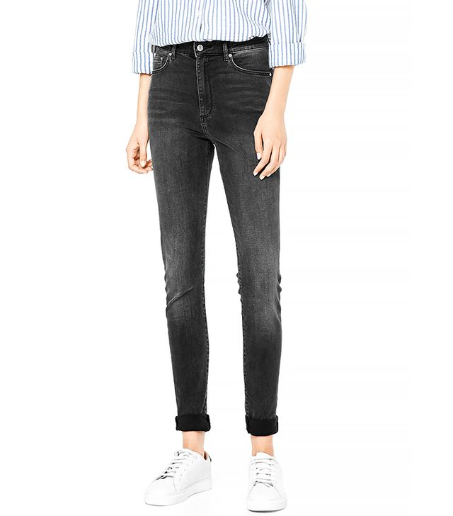 Mango High Waist Soho Jeans