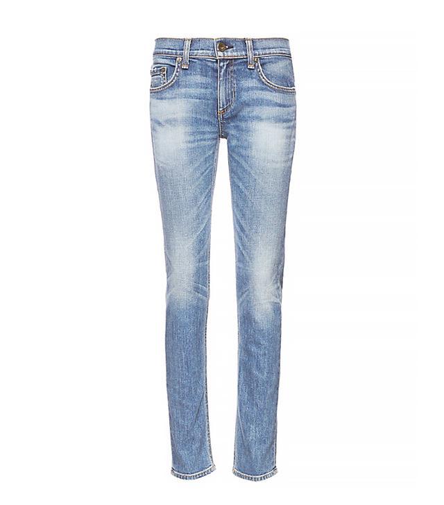 Rag & Bone/Jean Tomboy Crop Skinny Jeans