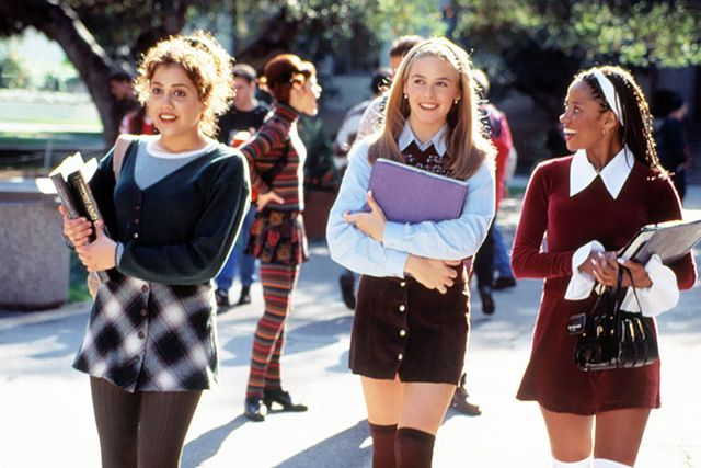 No surprise here, but we still can't get enough of the clothes in Clueless. Somehow, Cher and her high school clique continue to convince us that plaid minis, high socks and simple red...