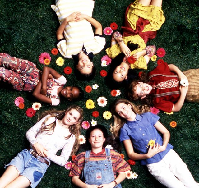 Between the seven main characters in this classic childhood flick, all the '90s bases are covered, from new-money prep (sweater vests, tube socks) to tomboy (striped tees, overalls) to...