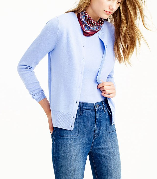 J.Crew Collection Cashmere Cardigan Sweater