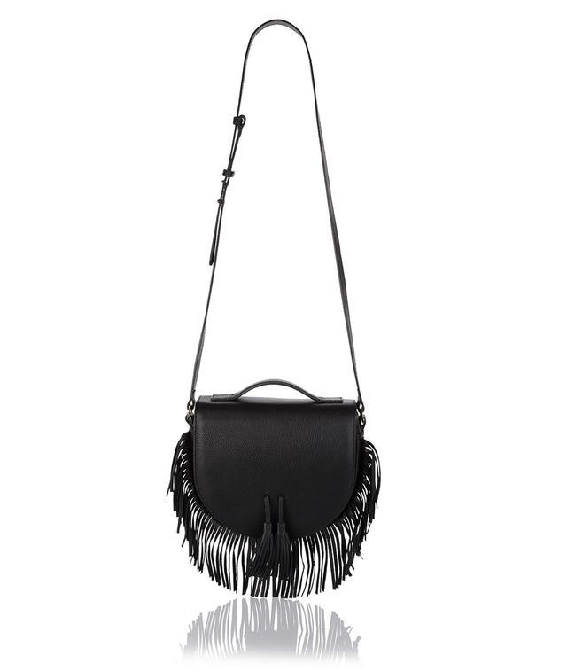 Meli Melo Tallulah Black Fringe Bag