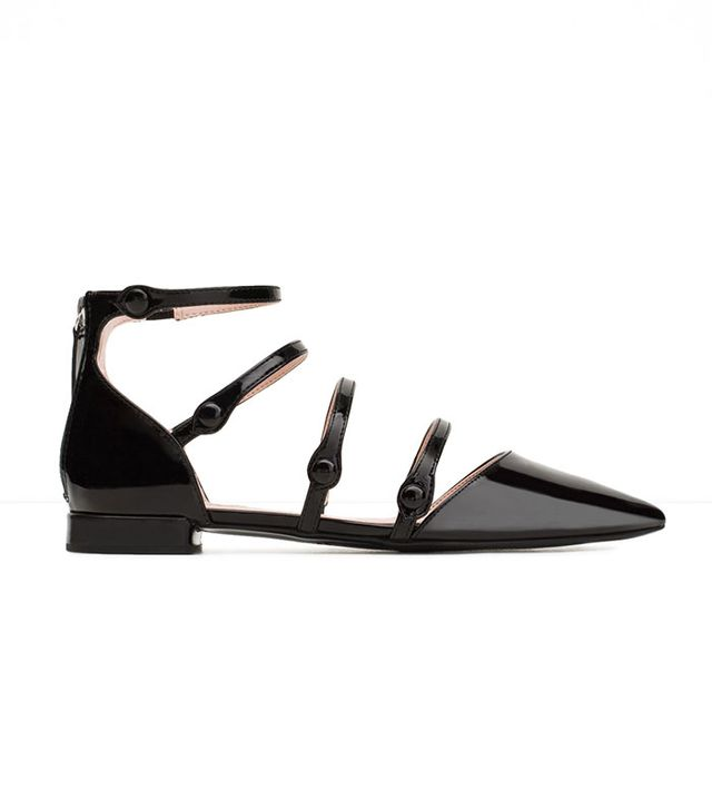 Zara Strappy Flats