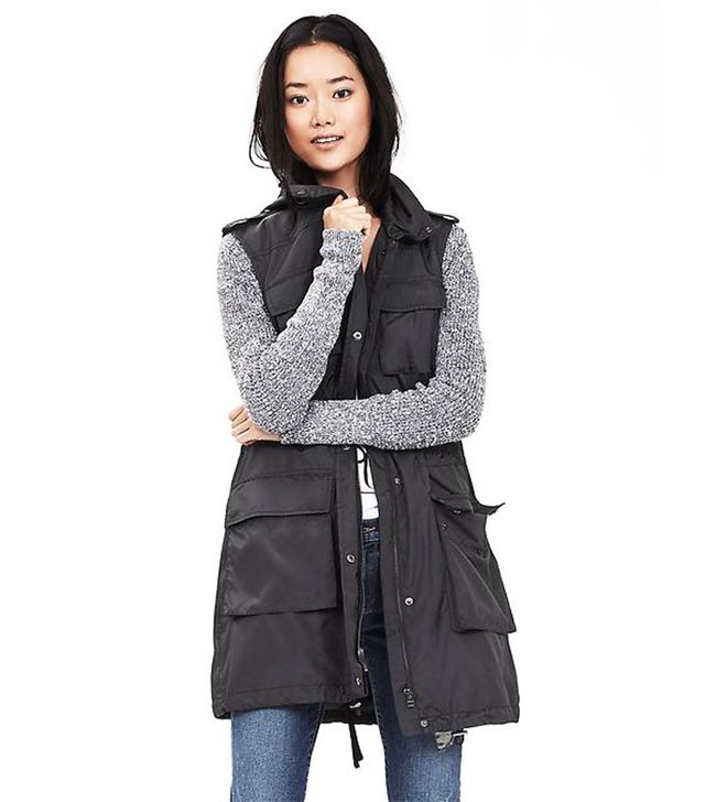 Banana Republic Lightweight Long Vest