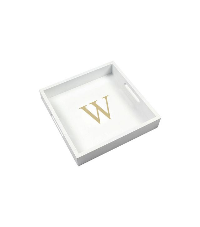 Joss and Main Personalized Tray in White