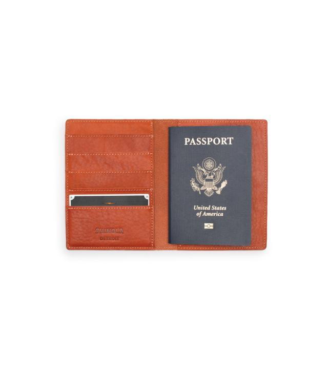 Shinola Passport Holder