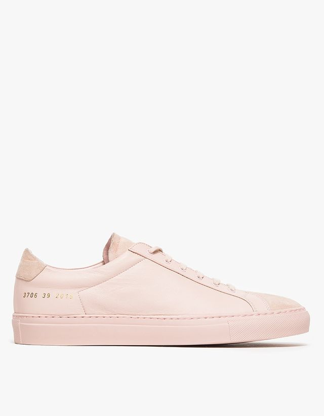 Woman by Common Projects Achilles Premium Low in Blush