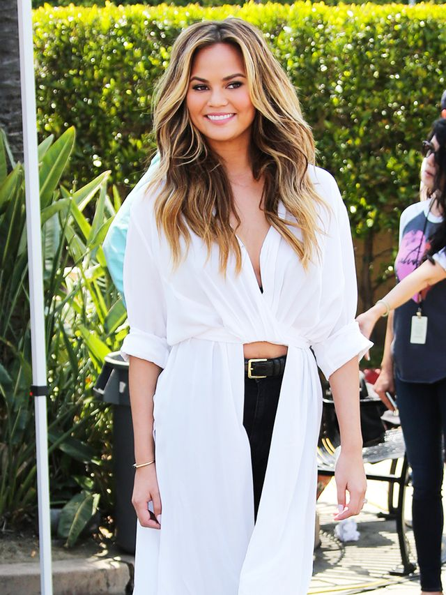 Chrissy Teigen's Instagram Message for Body Shamers