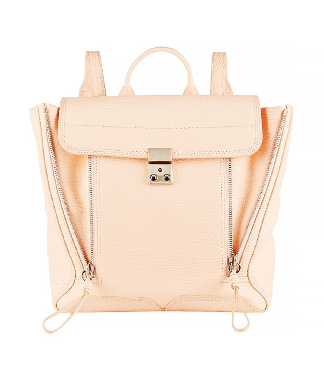 3.1 Phillip Lim The Pashli Textured-Leather Backpack