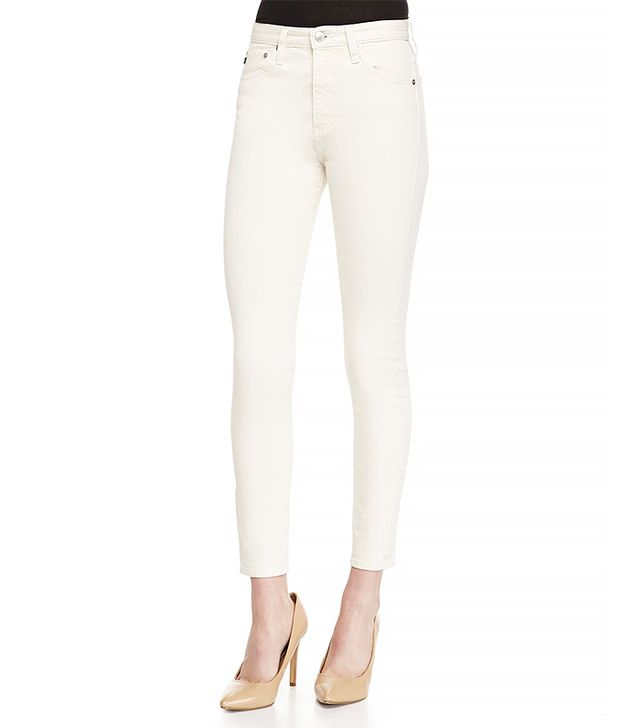 Alexa Chung for AG The Brianna High-Waist Skinny Jeans