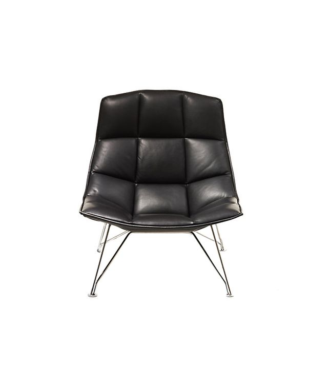 Jehs and Laub Leather Lounge Chair