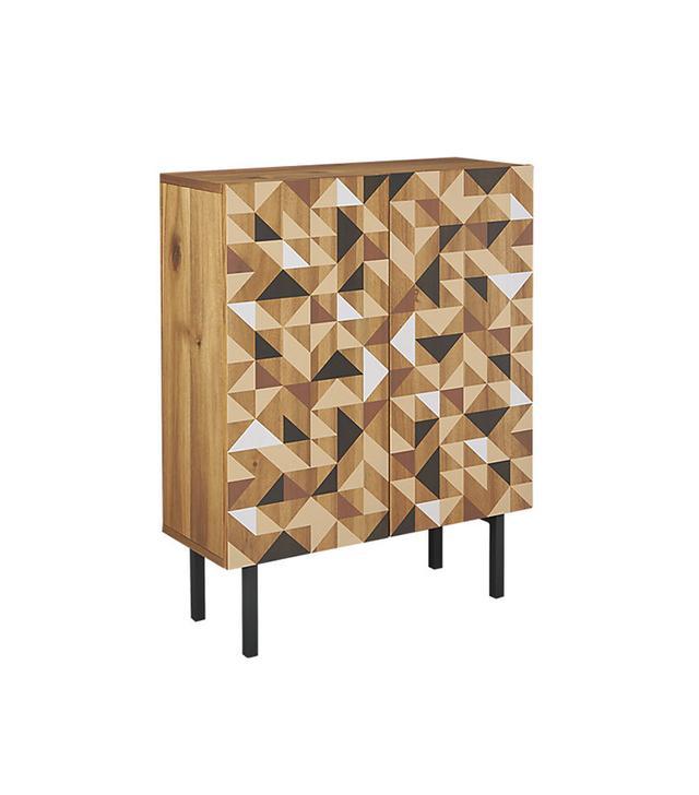 CB2 Triad Cabinet