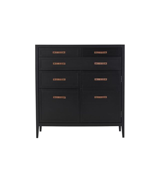 Crate and Barrel Newman Compact Office Chest of Drawers