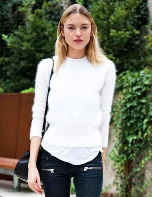 Model-Off-Duty Style: How to Transition Your Cropped Pants to Fall