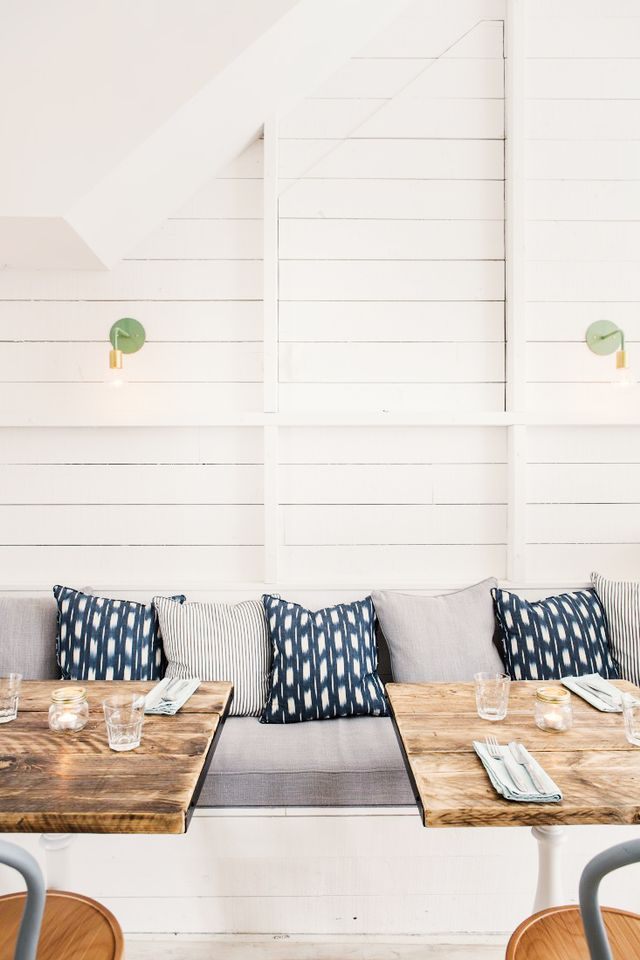 Restaurant Decor Ideas - Shiplap Walls