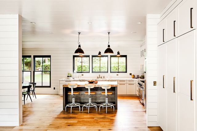 Classic Kitchen Ideas - Shiplap Walls