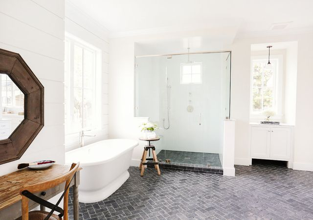 Bathroom Ideas - Shiplap Walls