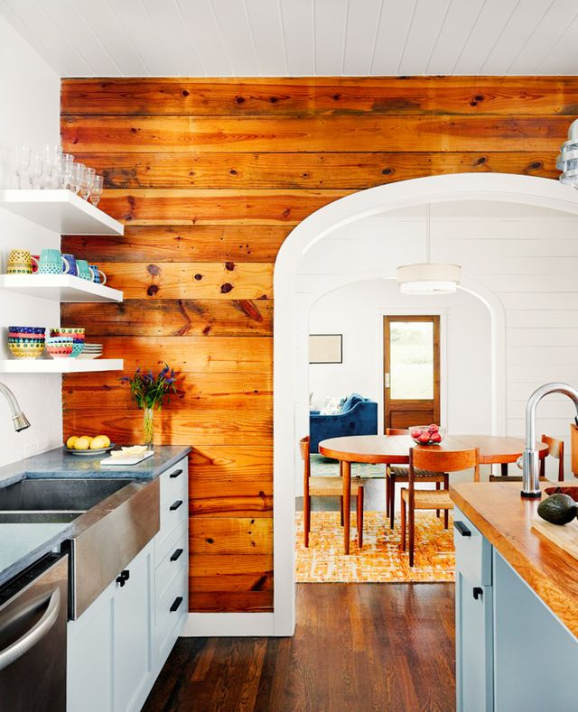 Kitchen Decor Ideas - Shiplap Walls