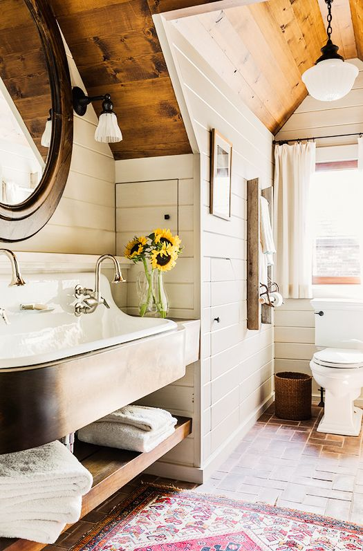 Bathroom Decor Ideas - Shiplap Walls