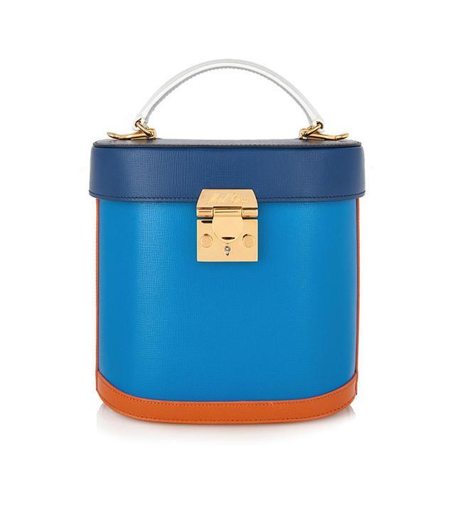 Mark Cross Benchley Binocular Leather Bag,