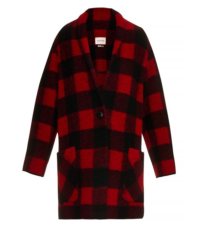 Étoile Isabel Marant Gabrie Checked Coat