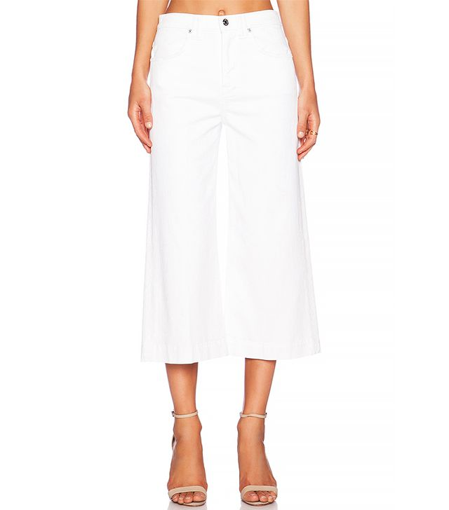 7 for All Mankind Denim Culottes