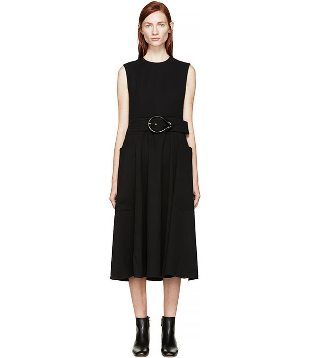 J.W.Anderson Black Belted Dress
