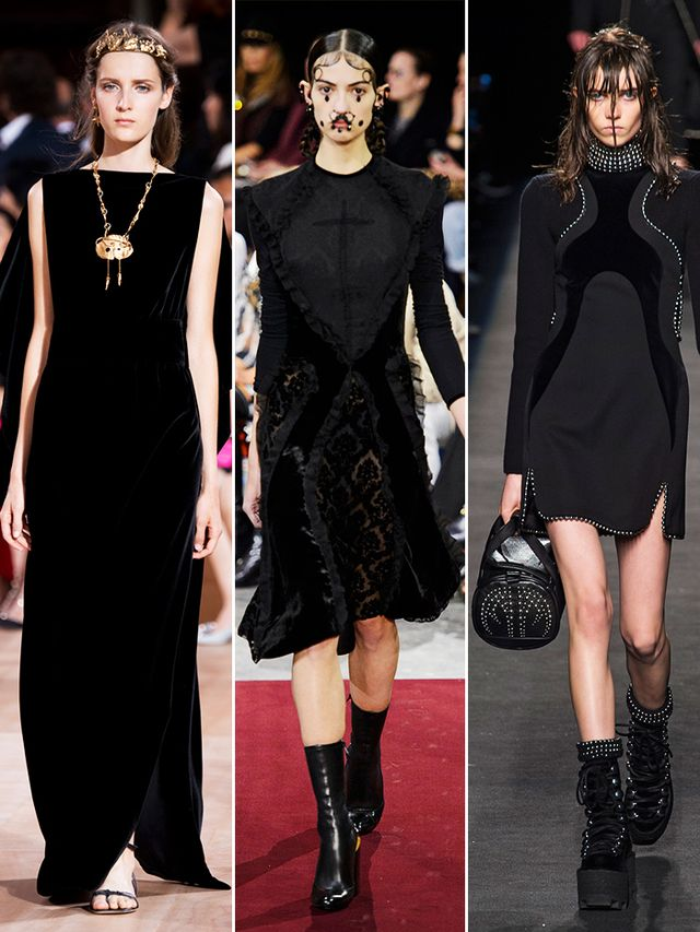 On the runway: Valentino, Givenchy, Alexander Wang.