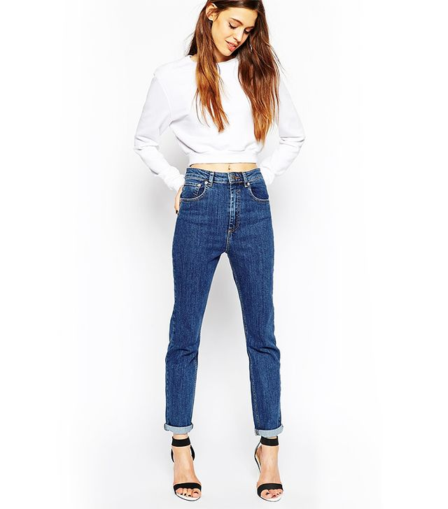ASOS Farleigh Highwaist Slim Mom Jeans