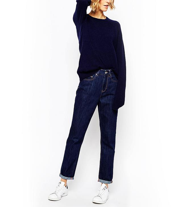 Waven High Rise Mum Jeans