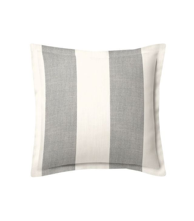 Pottery Barn Custom Upholstery Fabric Flanged Pillow Cover