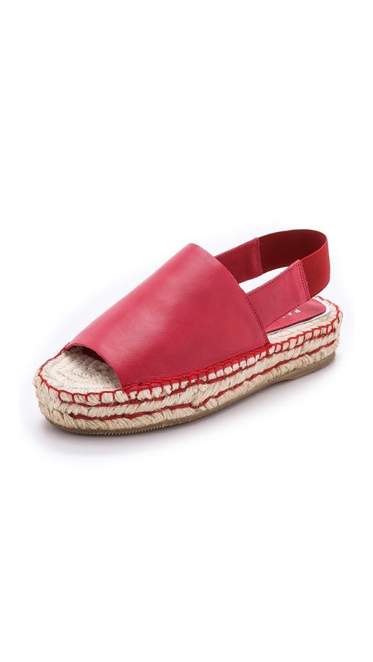 Paloma Barcelo Swing Espadrille Platform Sandals