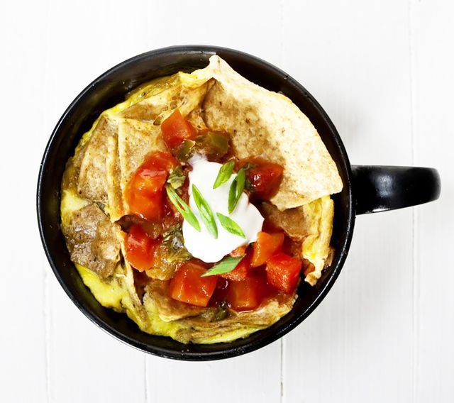 Coffee-Cup Chilaquiles