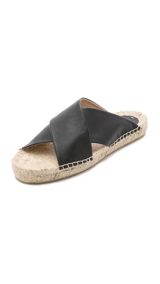 Soludos Crisscross Platform Espadrille Sandals